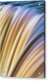 Colorful Flow Acrylic Print
