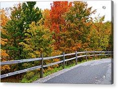 Colorful Lane Acrylic Print