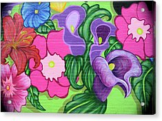 Colorful Mural Acrylic Print
