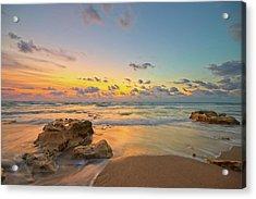 Colorful Seascape Acrylic Print