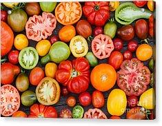 Colorful Tomatoes Acrylic Print