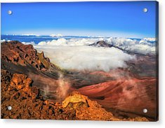 Colors And Clouds Acrylic Print by Fernando Margolles