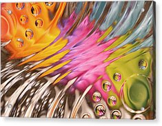Colors In Vitro 2 Acrylic Print