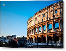 Colosseum In Rome In Rome, Italy Acrylic Print