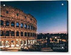 Colosseum Acrylic Print