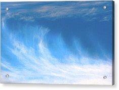Colours. Blue Acrylic Print