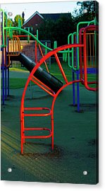 Colours. Red  Acrylic Print