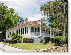 Columbia County Visitors Center - Savannah Rapids Acrylic Print