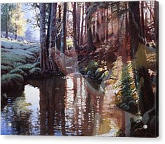 Come, Explore With Me Acrylic Print