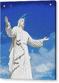 Acrylic Print featuring the digital art Come Unto Me by Kenneth Montgomery