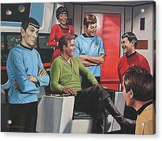 Comic Relief Acrylic Print