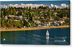 Commencement Bay,washington State Acrylic Print