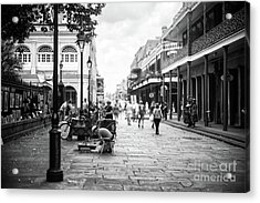Concentration In New Orleans Acrylic Print by John Rizzuto