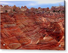 Coneland In Coyote Buttes South Acrylic Print