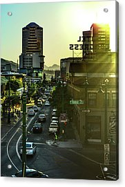 Acrylic Print featuring the photograph Congress Street by Chance Kafka