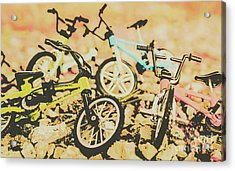 Conquering Boulder Peak Acrylic Print