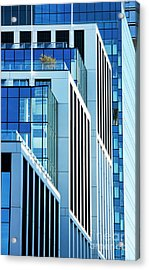 Converging Corners Acrylic Print by Tim Gainey