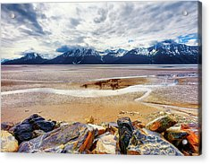 Acrylic Print featuring the photograph Cooks Inlet In Alaska by Dee Browning