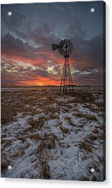 Acrylic Print featuring the photograph Cool Breeze  by Aaron J Groen