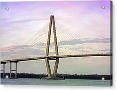 Cooper River Bridge At Sunset Acrylic Print