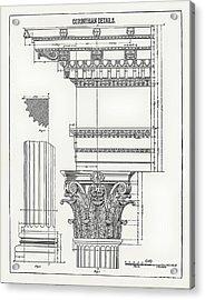 Corinthian Architecture Acrylic Print