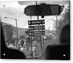 Costa Rica Backseat Driver Acrylic Print