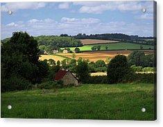 Cotswold Field England 81601 Acrylic Print