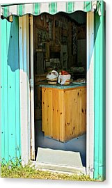 Acrylic Print featuring the photograph Country Store by Tatiana Travelways