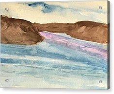 County Lake Acrylic Print