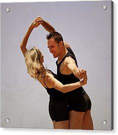 Couple Of Dancers Acrylic Print