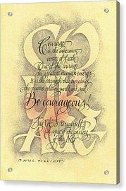 Courage 2 Acrylic Print