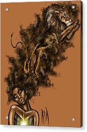 Courageous Me Acrylic Print