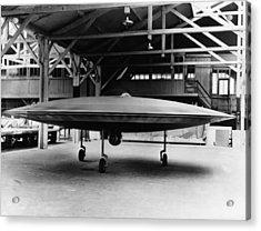 Couzinets Flying Saucer Acrylic Print by Keystone