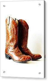 Cowboy Boots Acrylic Print