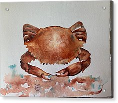 Crab To Eat Acrylic Print