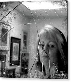 Acrylic Print featuring the photograph Cracked by Terry Rowe