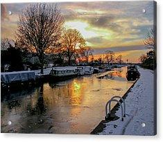Cranfleet Canal Boats Acrylic Print