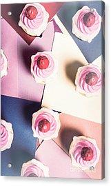 Cream Of The Top Acrylic Print