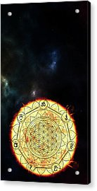 Acrylic Print featuring the digital art Creative Force by Bee-Bee Deigner