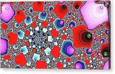 Creative Spiral Abstract Art Acrylic Print