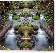 Creek Diamonds #1n Acrylic Print