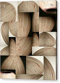 Crescents Acrylic Print