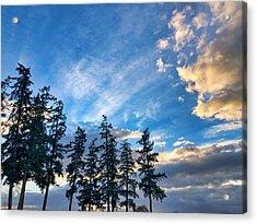 Crisp Skies Acrylic Print