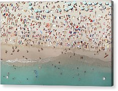 Crowded View, Aerial View Acrylic Print