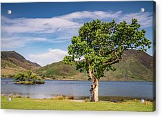 Crummock Water View Acrylic Print