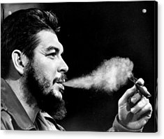 Cuban Minister Of Industry Ernesto Che Acrylic Print