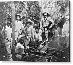 Cuban Rebels Acrylic Print by Hulton Archive