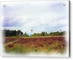 Culloden Battlefield Painting Acrylic Print