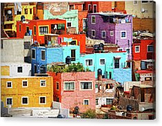Cultural Colonial Cities Of Mexico Acrylic Print