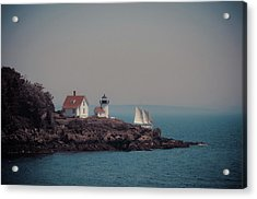 Acrylic Print featuring the photograph Curtis Island Lighthouse - Camden, Maine by Joann Vitali